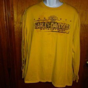 Harley Davidson Mens Long Sleeve Shirt XLarge